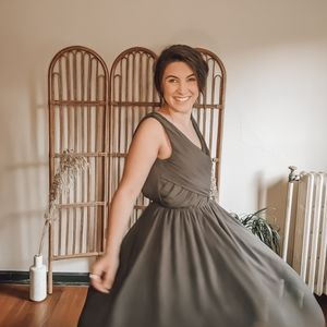 Charcoal Bridesmaid Dress Semiformal Gown H&M